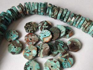 Поступление хризоколлы, форма  «чипсы» , крупные. Ярмарка Мастеров - ручная работа, handmade.