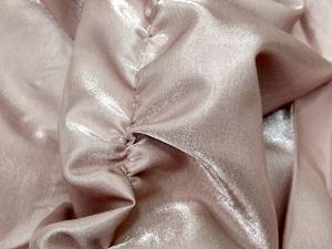 Ткань Глянец — розовая эмаь. Ярмарка Мастеров - ручная работа, handmade.