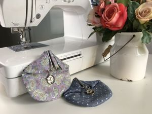How to Sew Purse with Snapper. Livemaster - handmade