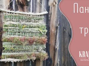 Создаем панно из трав своими руками. Ярмарка Мастеров - ручная работа, handmade.