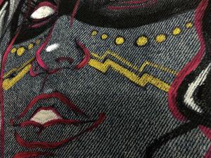 Роспись джинсовой жилетки. Ярмарка Мастеров - ручная работа, handmade.