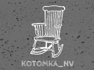 Кресло качалка для кукол — мебель для кукольного домика миниатюра 1:12. Ярмарка Мастеров - ручная работа, handmade.