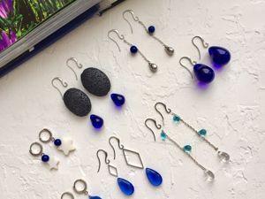 Коллекция Синева — уже сегодня в моем магазине. Ярмарка Мастеров - ручная работа, handmade.