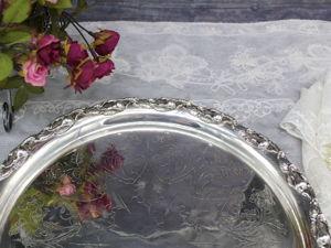 Дополнительные фотографии антикварного подноса. Ярмарка Мастеров - ручная работа, handmade.