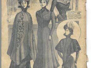 Парижская мода зима 1899-1900 годы. Ярмарка Мастеров - ручная работа, handmade.