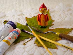 Снег на кленовом листочке — это хорошо или так себе?. Ярмарка Мастеров - ручная работа, handmade.