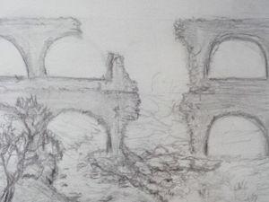 Создаем макет «Руины акведука» в масштабе 1:200. Часть 1. Ярмарка Мастеров - ручная работа, handmade.
