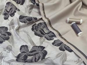 Жаккард + плательная ткань. Ярмарка Мастеров - ручная работа, handmade.