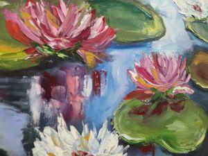 Открылась моя персональная выставка  «Цветы и море». Ярмарка Мастеров - ручная работа, handmade.
