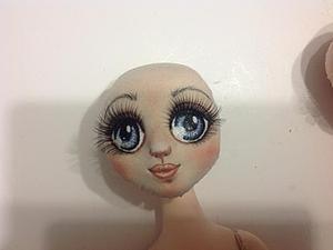 Мастер-класс по раскраске кукольных глазок. Ярмарка Мастеров - ручная работа, handmade.