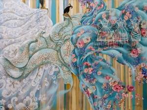 Очаровательный пэчворк бразильской художницы Sandra Freitas. Ярмарка Мастеров - ручная работа, handmade.