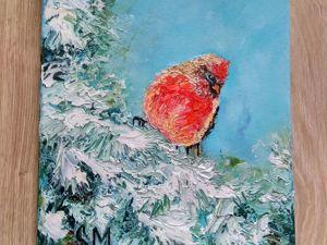Встречайте. Красный кардинал!. Ярмарка Мастеров - ручная работа, handmade.