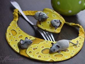Комплект  «Мышкино счастье» Видео. Ярмарка Мастеров - ручная работа, handmade.