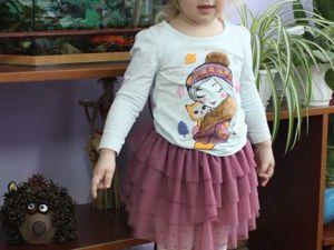 Мастер-класс: шьем пышную юбку для девочки. Ярмарка Мастеров - ручная работа, handmade.