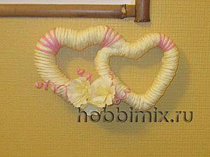 Пенопластовые сердечки для сердечного настроения.. Ярмарка Мастеров - ручная работа, handmade.