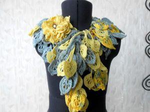 АКцмя! ПОСЛЕДняя распродажа почти всех шарфов за 550 руб!. Ярмарка Мастеров - ручная работа, handmade.