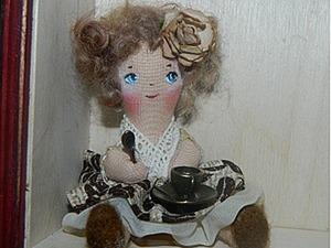 Подарок на скорую руку) Куколка примитив. Ярмарка Мастеров - ручная работа, handmade.