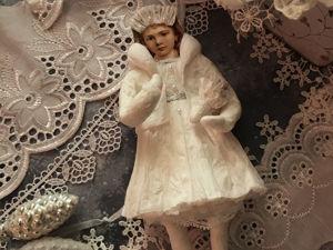 Обзор моих работ. Девушка в белом. Ярмарка Мастеров - ручная работа, handmade.