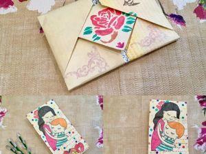 Видеоурок: делаем поздравительный конверт в технике оригами. Ярмарка Мастеров - ручная работа, handmade.