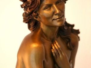 Утонченные и романтичные дамы в скульптурах Tamara Bonet. Ярмарка Мастеров - ручная работа, handmade.