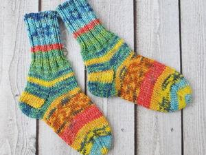И еще партия носочков хочет согреть детские ножки. Ярмарка Мастеров - ручная работа, handmade.