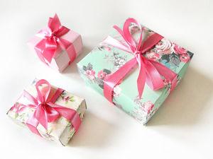 Мастерим коробочку для подарка своими руками за 15 минут. Ярмарка Мастеров - ручная работа, handmade.