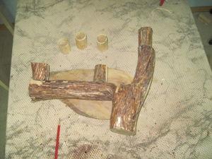Делаем эксклюзивное бра. Часть 2: обрабока заготовок. Ярмарка Мастеров - ручная работа, handmade.