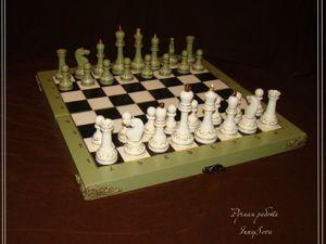 Шахматная партия длинной в полугодие. Ярмарка Мастеров - ручная работа, handmade.