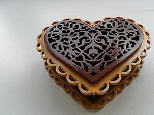 Делаем ажурную шкатулку сердечко. Ярмарка Мастеров - ручная работа, handmade.