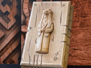 Шкатулка для денег  «Бог Велес». Ярмарка Мастеров - ручная работа, handmade.