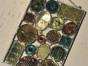 Изготовление декоративного панно-витража. Ярмарка Мастеров - ручная работа, handmade.