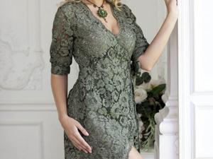 Аукцион на Эффектное кружевное платье! Старт 2500 руб.!. Ярмарка Мастеров - ручная работа, handmade.