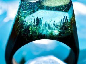 Целый мир у тебя на пальце: подборка фантастических колец. Ярмарка Мастеров - ручная работа, handmade.