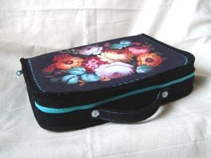 Шьём чемоданчик-органайзер для рукодельницы. Ярмарка Мастеров - ручная работа, handmade.