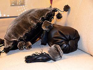 Подушки-приколюшки, или Волшебное преображение дубленки. Ярмарка Мастеров - ручная работа, handmade.