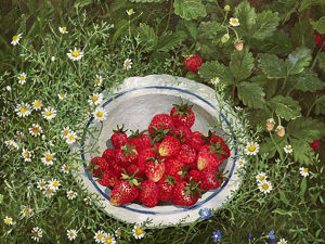 Ripe Strawberries by Wonderful Artists. Livemaster - handmade