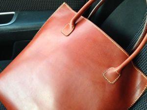 Шьем женскую кожаную сумку. Ярмарка Мастеров - ручная работа, handmade.