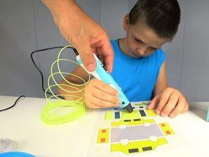 Видеоурок: объемная желтая машинка 3D-ручкой. Ярмарка Мастеров - ручная работа, handmade.