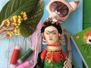 10 советов как стать мегапопулярной от Фриды Кало. Ярмарка Мастеров - ручная работа, handmade.
