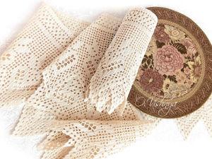 Набор ажурных дорожек и салфеток (выполнен на заказ). Ярмарка Мастеров - ручная работа, handmade.