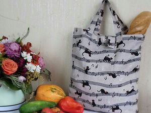 Eco-Friendly Shopping Bag. Livemaster - handmade