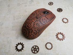 Декорируем компьютерную мышку в стиле стимпанк. Ярмарка Мастеров - ручная работа, handmade.