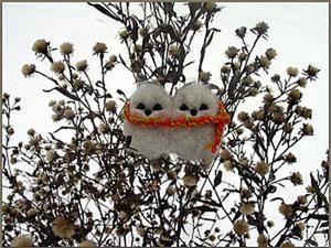 Валяем милых птичек-неразлучников. Ярмарка Мастеров - ручная работа, handmade.