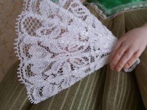 Как сделать веер для куклы из подручных материалов. Ярмарка Мастеров - ручная работа, handmade.