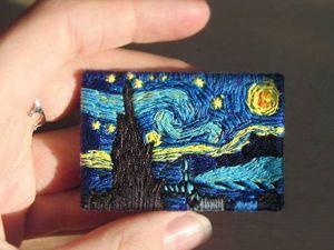 Amazing Embroidered Brooches by Lera Petunina. Livemaster - hecho a mano - handmade.
