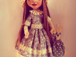 Шьем текстильную куклу с объемным лицом. Часть 2. Ярмарка Мастеров - ручная работа, handmade.