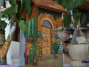 """Чайный домик """"Итальянский дворик"""". Мастер-класс по художественному декупажу. Часть 1. Ярмарка Мастеров - ручная работа, handmade."""