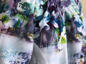 Блузочка с длинными рукавами. Ярмарка Мастеров - ручная работа, handmade.