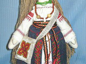 Шьем русский костюм для куклы. Часть 2. Ярмарка Мастеров - ручная работа, handmade.