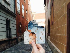 Intimate Reality Stylization in Illustrations by Tania Samoshkina. Livemaster - handmade